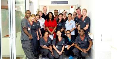 AMU team celebrating harmony day