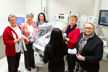 image of fsh staff in neonatal unit